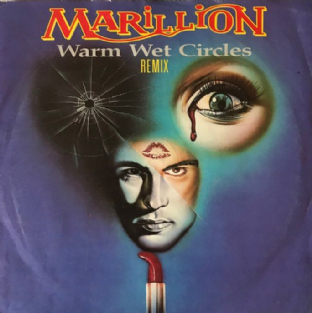 "Marillion ‎- Warm Wet Circles (Remix) (7"") (VG-/G-VG)"